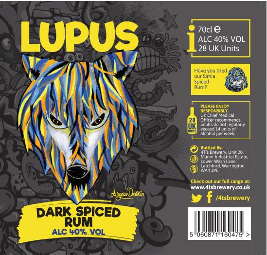4TS - LUPUS DARK SPICED RUM