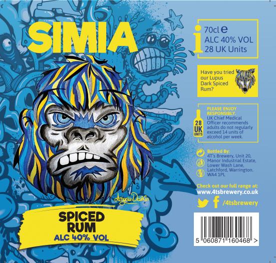 4TS - SIMIA SPICED RUM